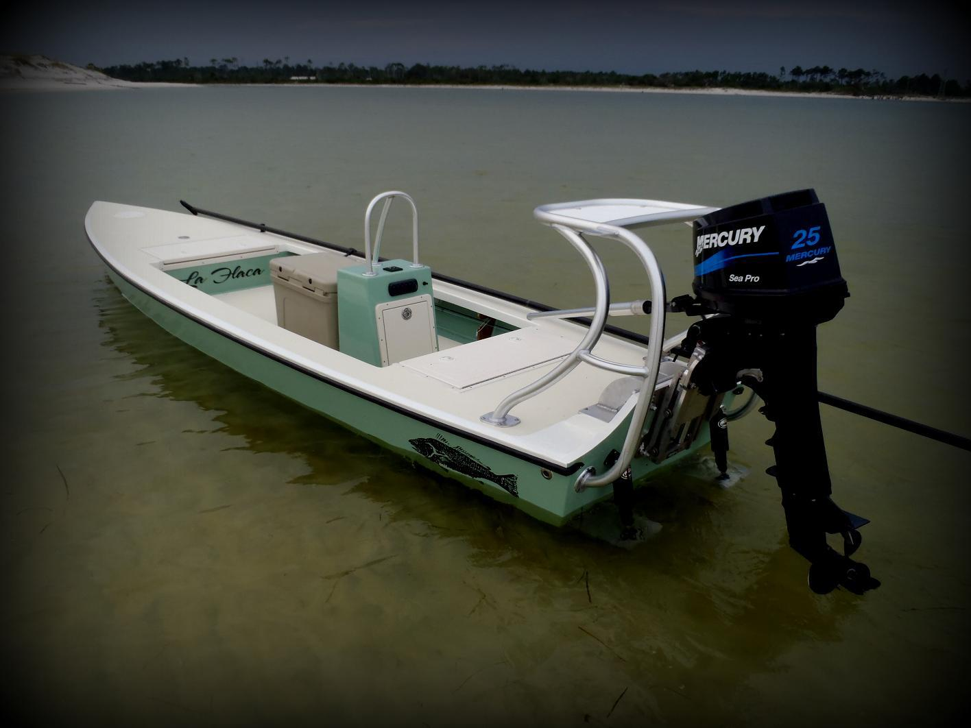 Poling Platform on Jon Boat