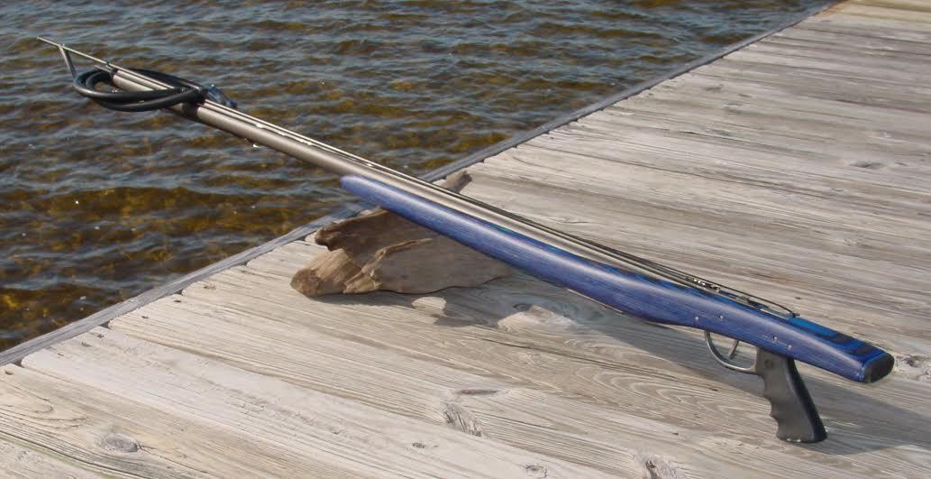 Beautiful One Off Handmade Speargun -gil-gun-jpg