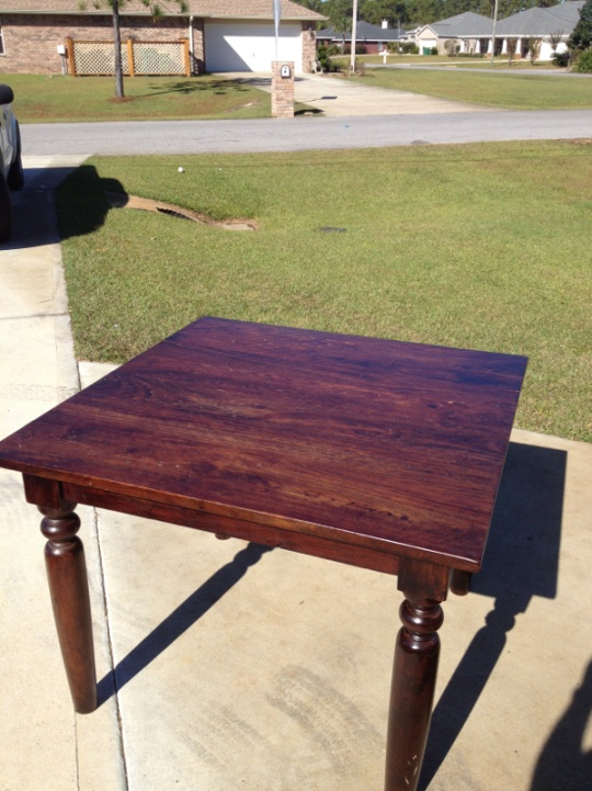 Sourav All Wood Dining Table From World