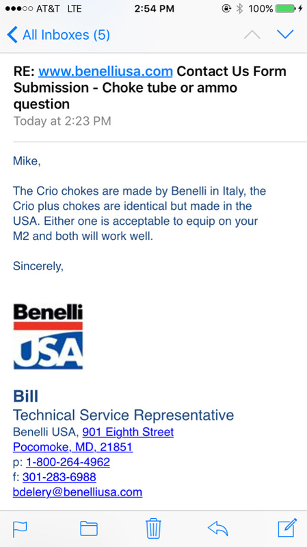 Benelli Crio Choke System-image-2439839000-jpg