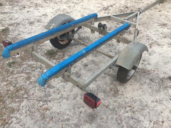 Small boat kayak jet ski trailer for sale 250 pensacola for Fishing jet ski for sale
