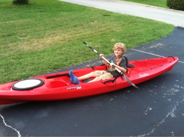 New yak for my son: Perception Pescador - Pensacola Fishing