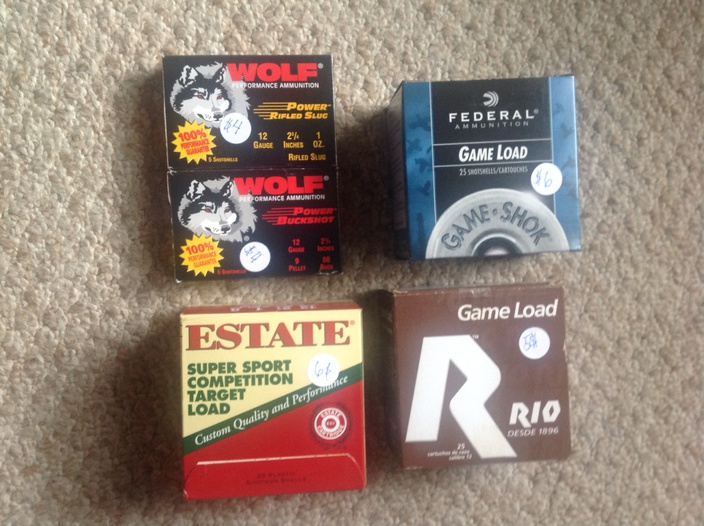 Mixed Brands/Multiple boxes of 12ga shotgun shells for sale *PCOLA-image-jpg