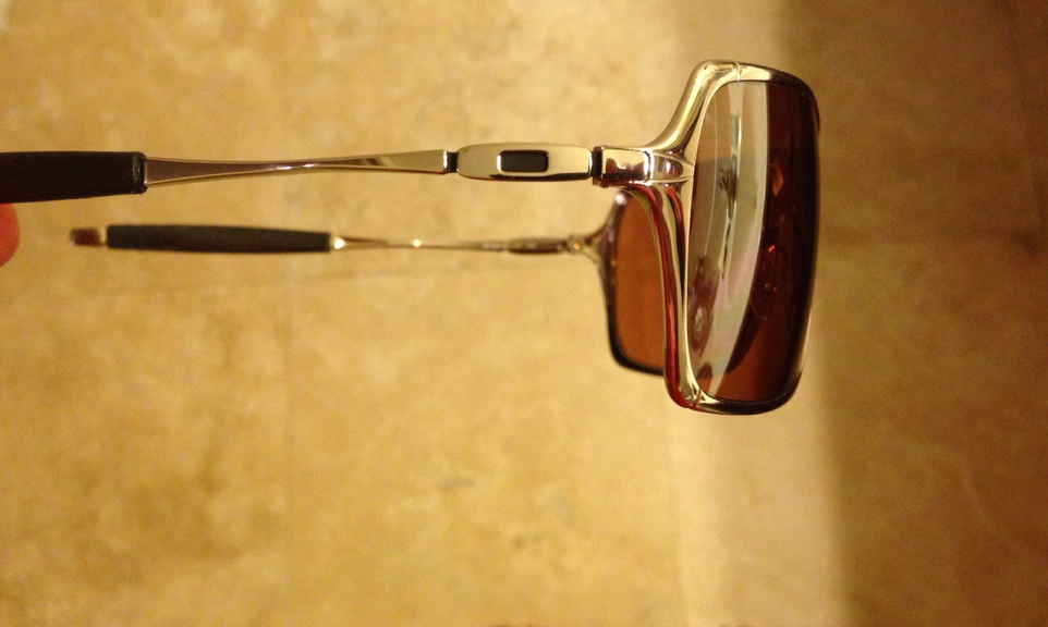 3792982044f WTT  Oakley Inmate Sunglasses Silver Wire Frame - Pensacola Fishing ...