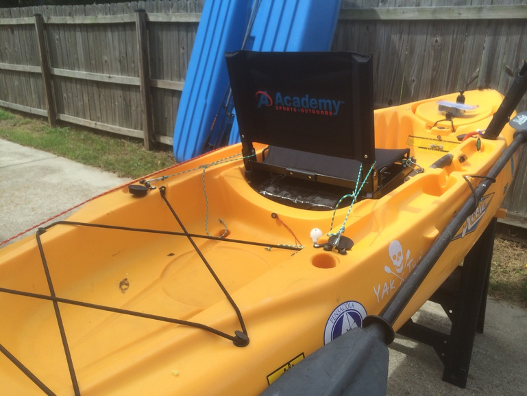 Seat Mod for Hobie Outback - Pensacola Fishing Forum