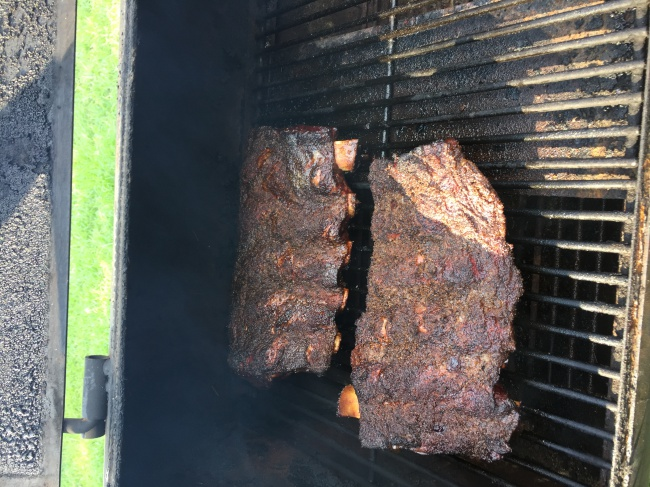 Beef ribs on the OK Joe-image-jpg