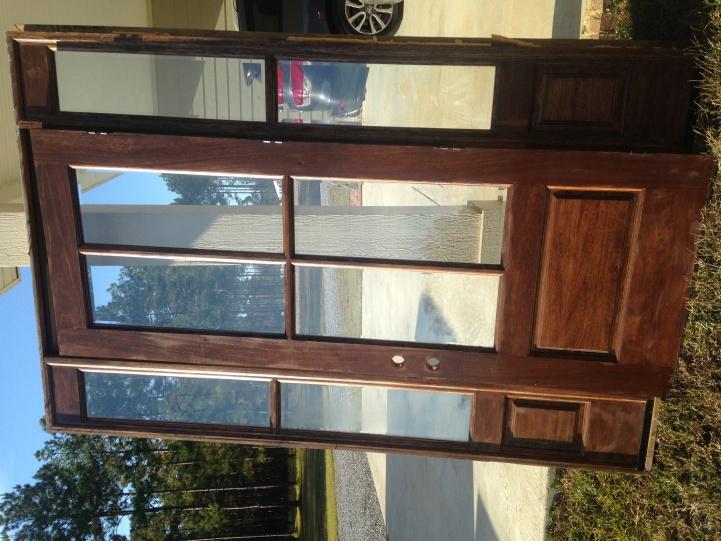 Solid mahogany entry door-image-jpg