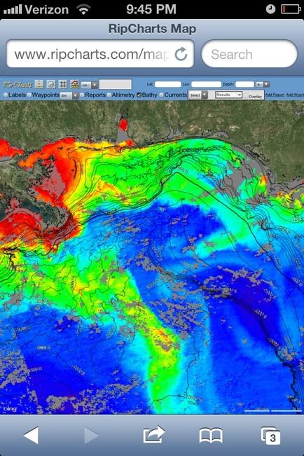 Tide lines temp breaks and blue water lines-image-jpg