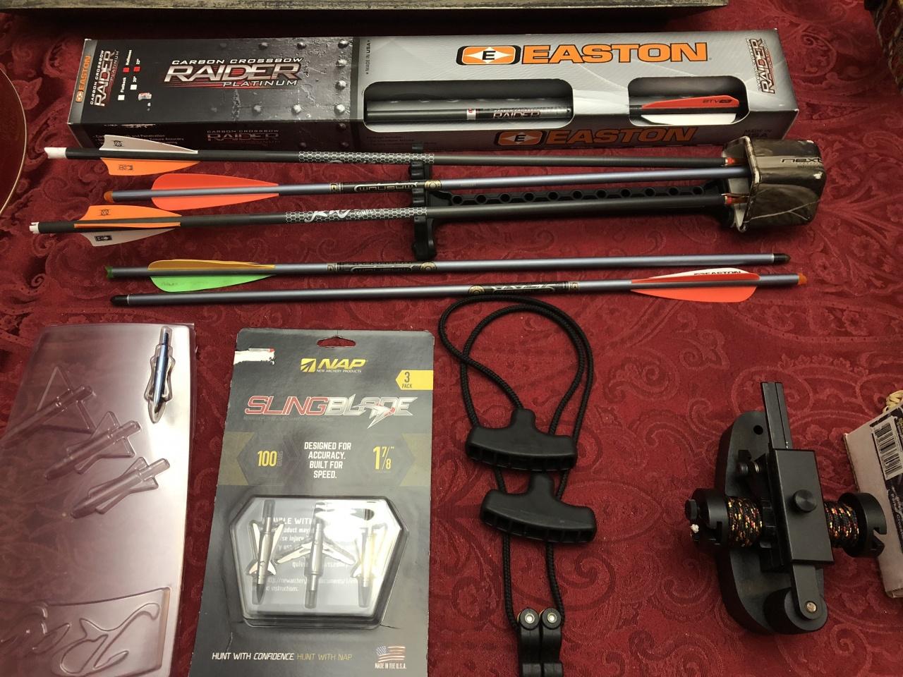 Parker crossbow w/ accessories, Molino, 300.00-img_0759-jpg