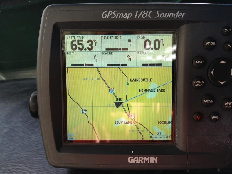 Garmin 178c GPS fishfinder transducer gps antenna power cable mount MUSO10R bluechart-img_1148-jpg