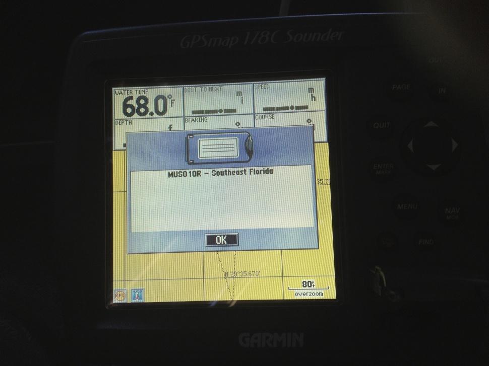 Garmin 178c GPS fishfinder transducer gps antenna power cable mount MUSO10R bluechart-img_1437-jpg