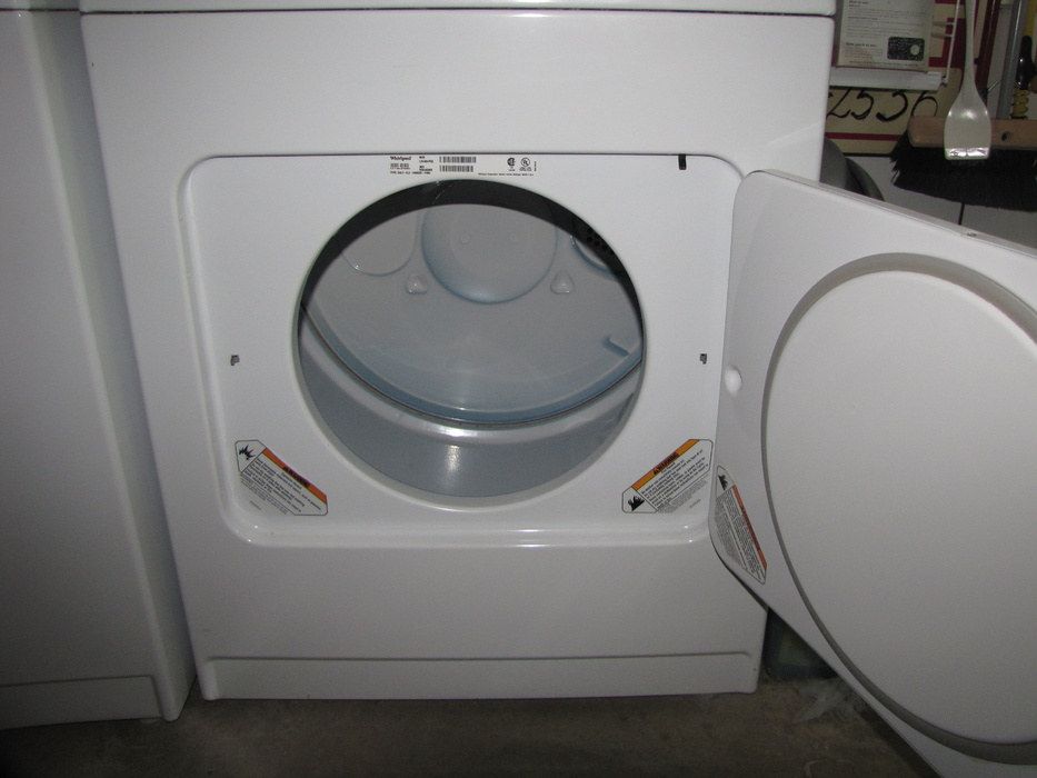 whirlpool washerdryer set for