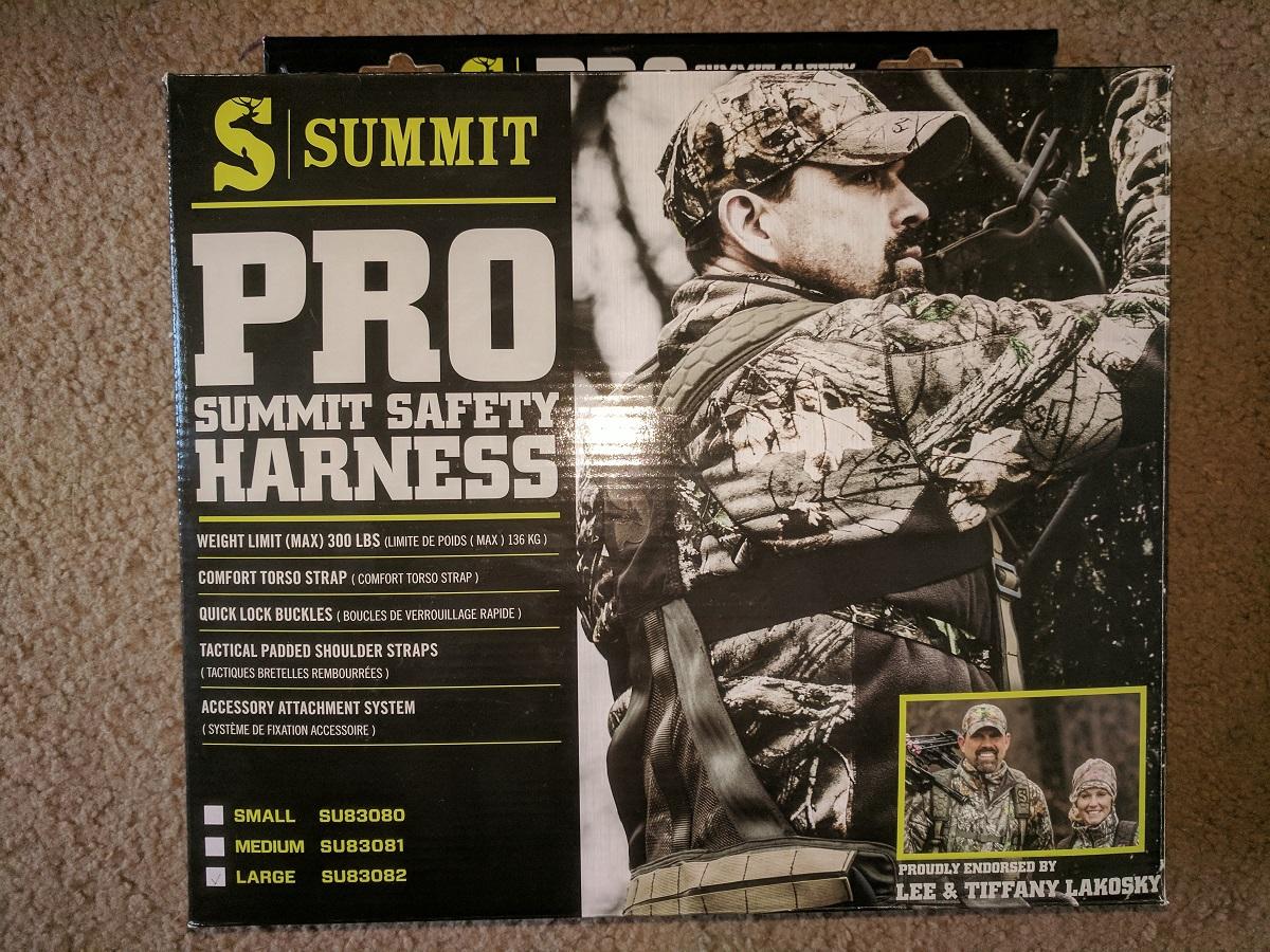 FS: Summit Treestand Men's Pro Safety Harness-img_20171004_163530-jpg