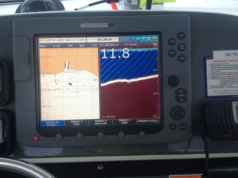 Raymarine E120 Classic and Transducer Issues - Page 3 - Pensacola