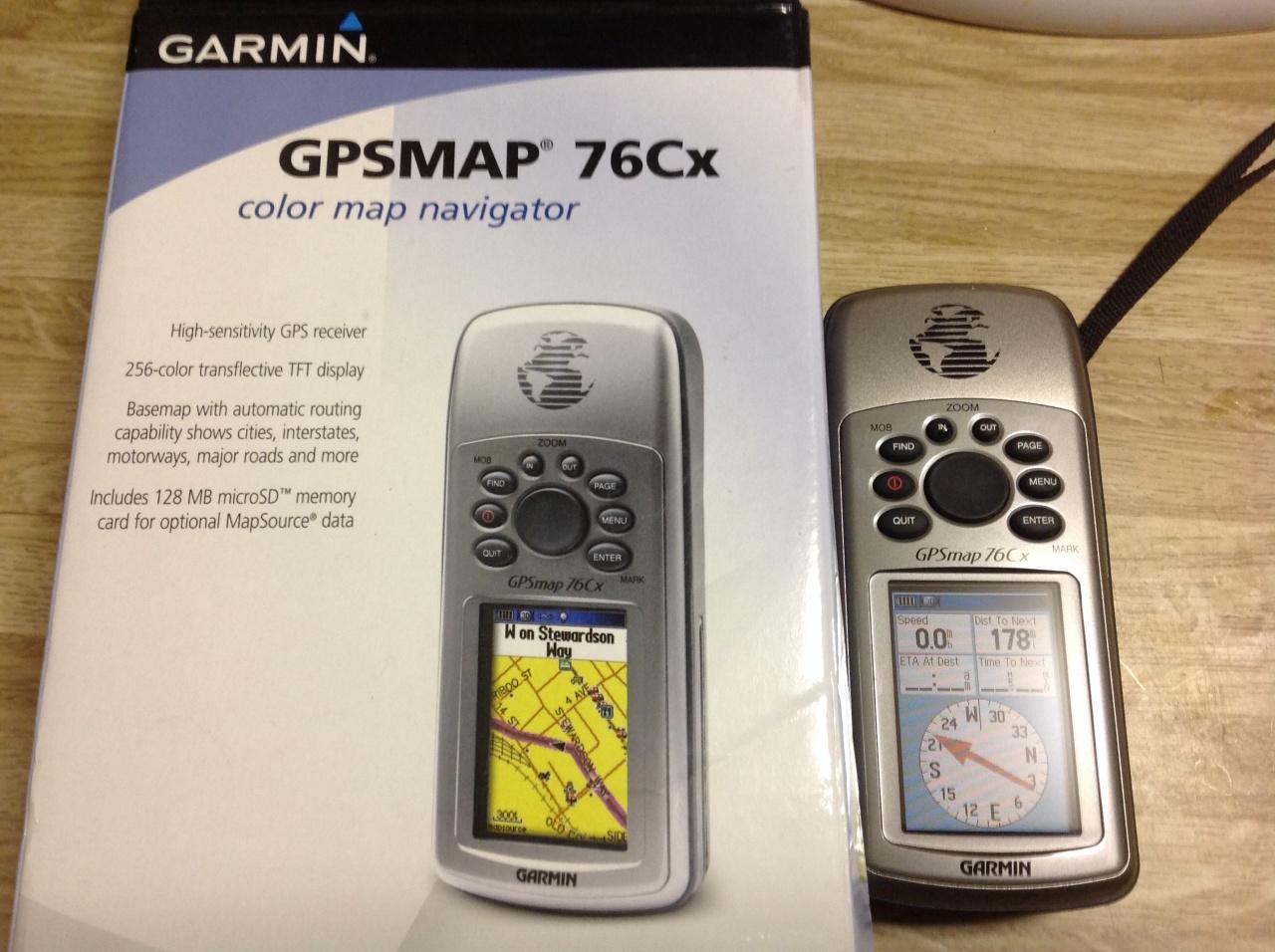 Garmin GPS Map 76Cx - Pensacola Fishing Forum