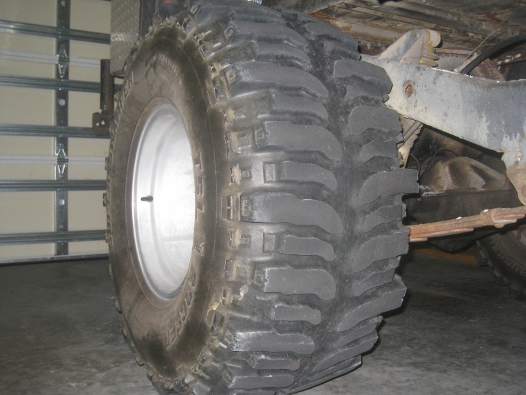Tires 33 or 35's 15 Inch