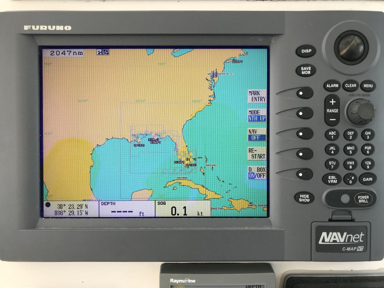 5 Furuno 6kw 4' Open Array Radar + Display + Cable-img_7622-jpg