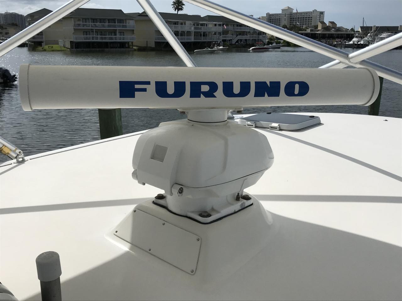 5 Furuno 6kw 4' Open Array Radar + Display + Cable-img_7635-jpg