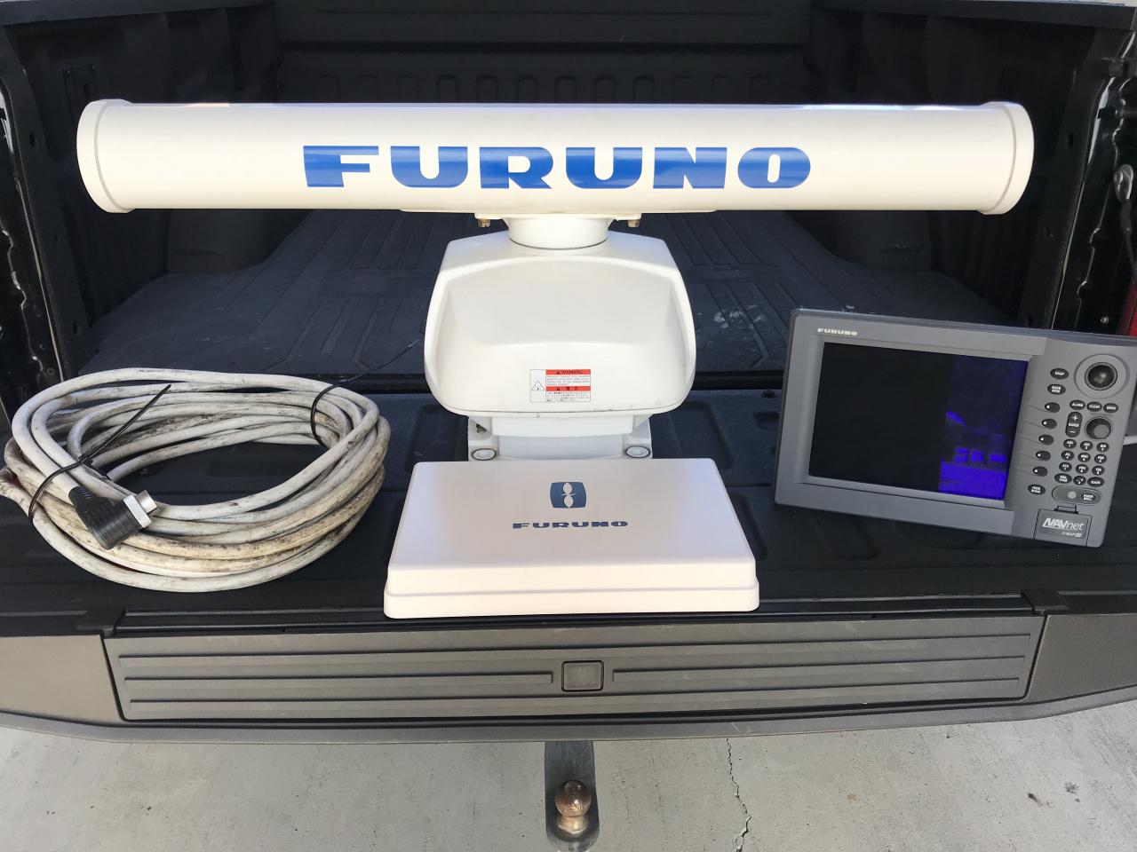5 Furuno 6kw 4' Open Array Radar + Display + Cable-img_8151-jpg