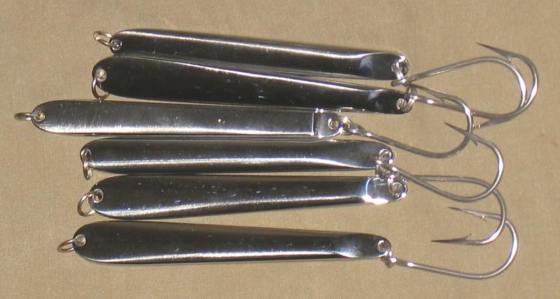 homemade knife jigs - pensacola fishing forum, Hard Baits