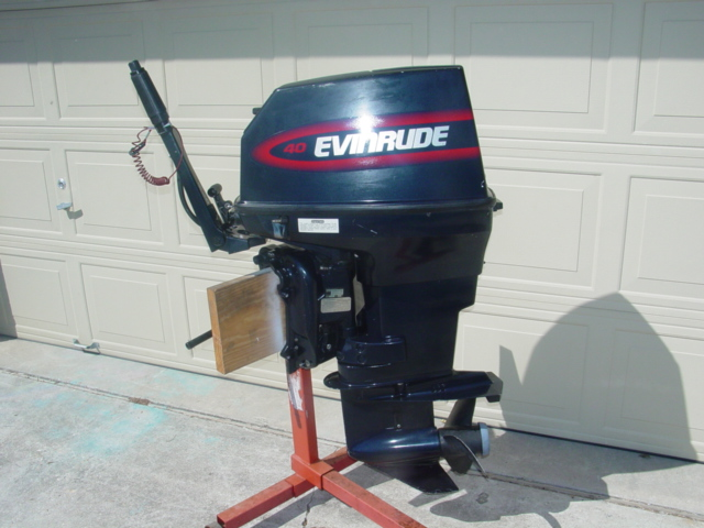 40hp Evinrude Outboard Boat Motor For Sale Johnson 30 35 50-motors-135- ...