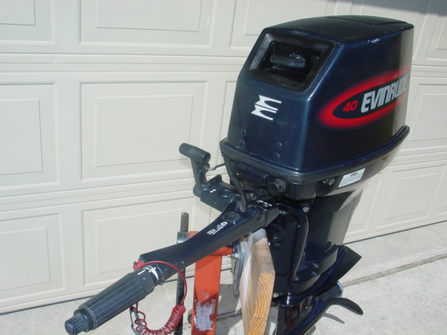 ... 40hp Evinrude Outboard Boat Motor For Sale Johnson 30 35 50-motors-136- ...