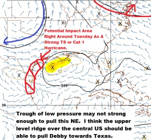 Tropical Storm Development Likely This Weekend In The Gulf Of Mexico-nam84-jpg