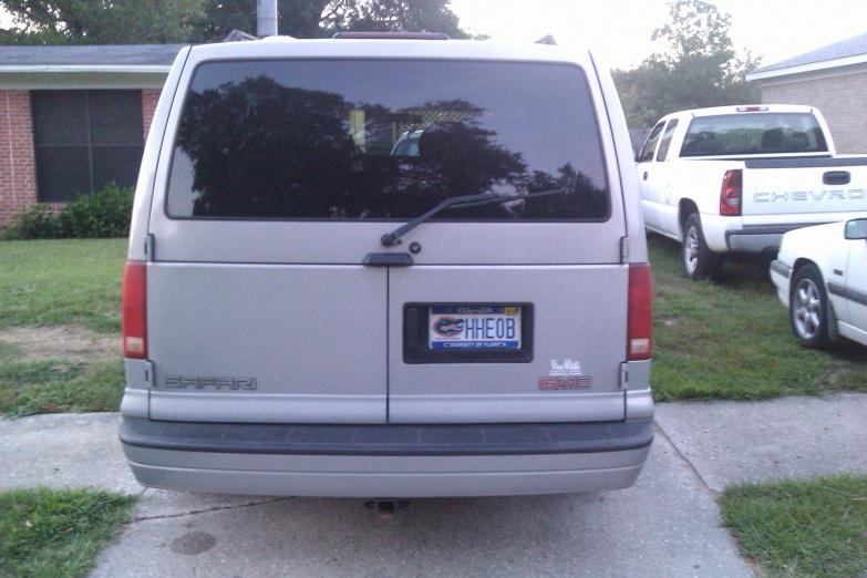 1999 Gmc Safari Xlt Cargo Van For Sale Pensacola Fishing Forum