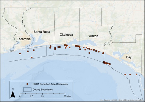 Florida Artificial Reefs Map.Northwest Florida Artificial Reef Creation And Restoration Project