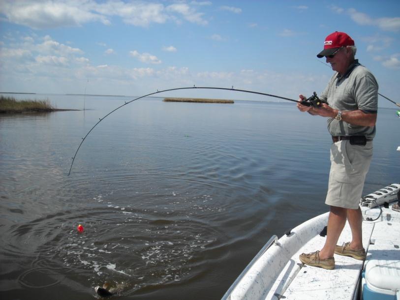 Fishing Is hot In Hopedale LA-oct-2010-032-jpg