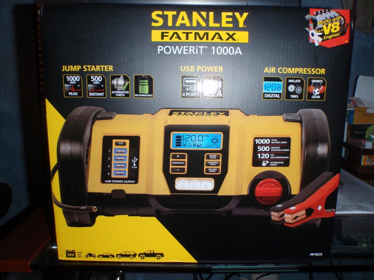 New Stanley Fatmax Power Station Jump Starter-p1090092-jpg