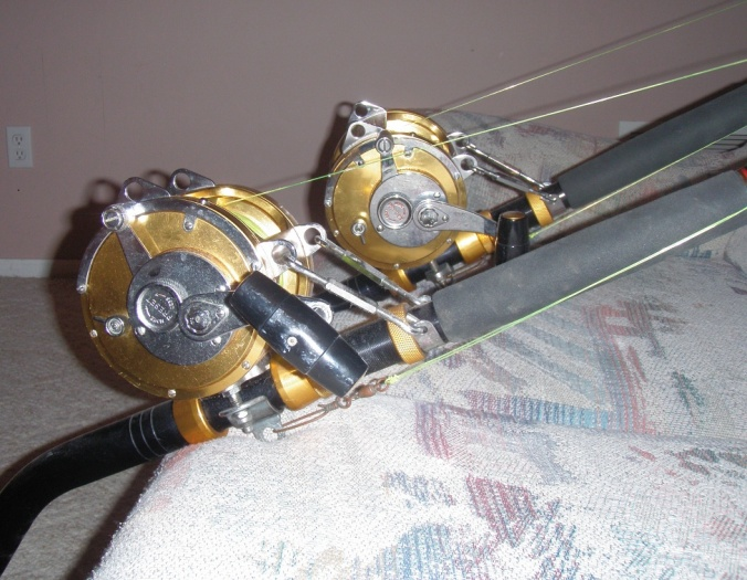 Penn International II 80T and Matching Rods - Pensacola