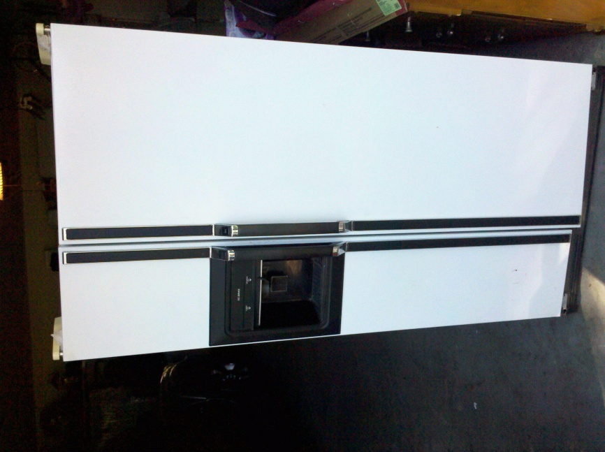 used kenmore side by side fridge for