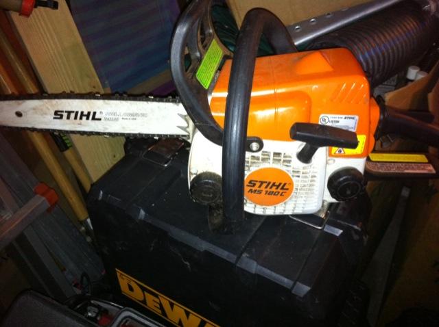 2 chainsaws for sale  Stihl 180c and Husky 345 - Pensacola Fishing Forum