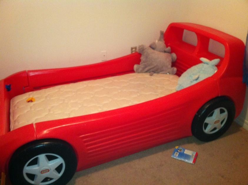 Twin Size Race Car Bed Photo 1 Jpg