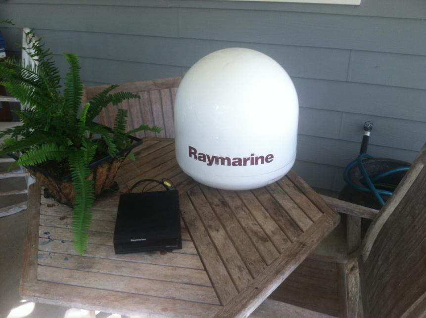 Raymarine Satellite System for Sale-photo-1-jpg