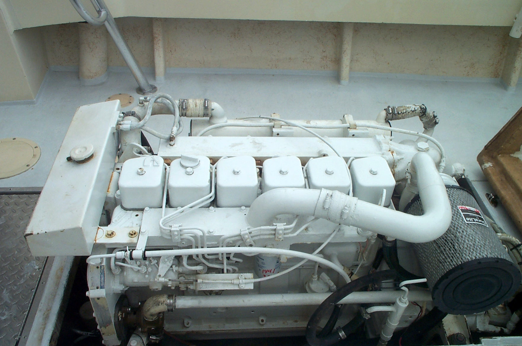 25' Kencraft Buxton Pilot House/Cummins Diesel/Tuna Tower w/ Controls-picture-003-jpg