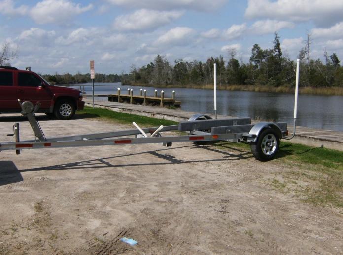 19 ft aluminum boat trailer for sale