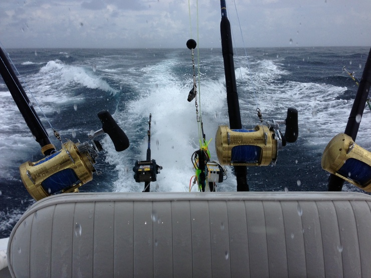 PELAGIC PIRATE 7-19 stormy day billfish bonanza-rain-jpg