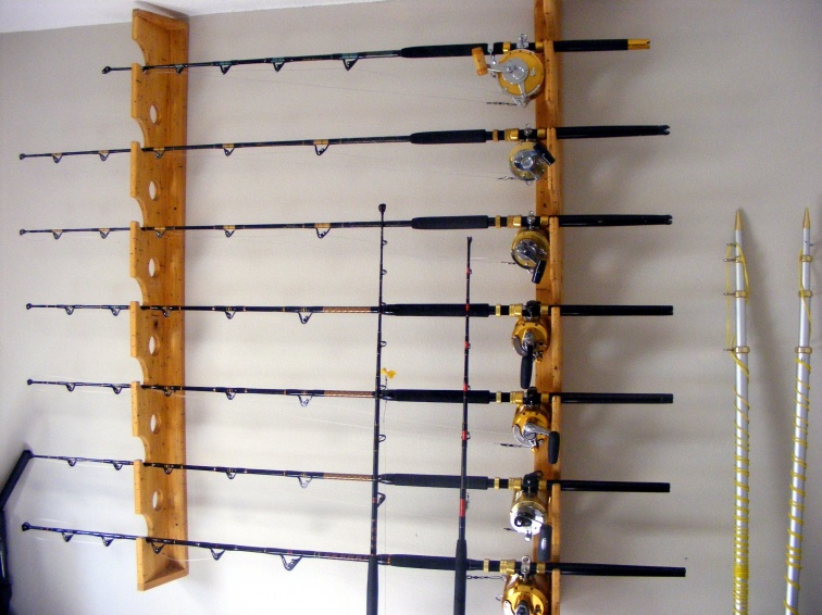 Wall Mounted Rod Holders