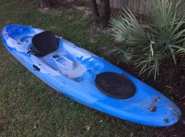 Mainstream kingfish sit on top fishing kayak for sale for Fishing kayaks for sale near me