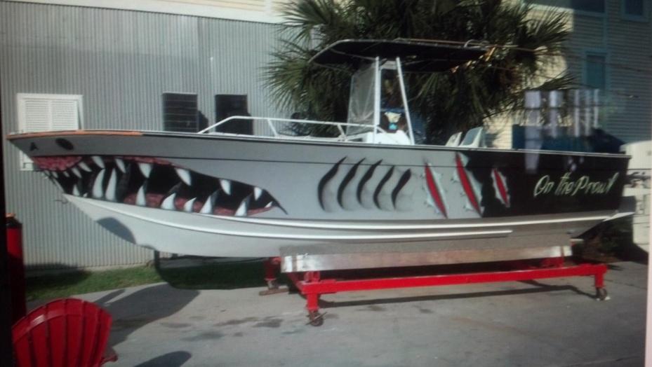 Boat Name The Pollywog Sharkboati Jpg
