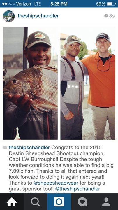 Ships Chandler Sheepshead shootout results-sheepshead-shootout-winner-jpg