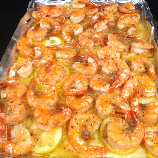 Lemon, butter, Shrimp bake-shrimp-jpg