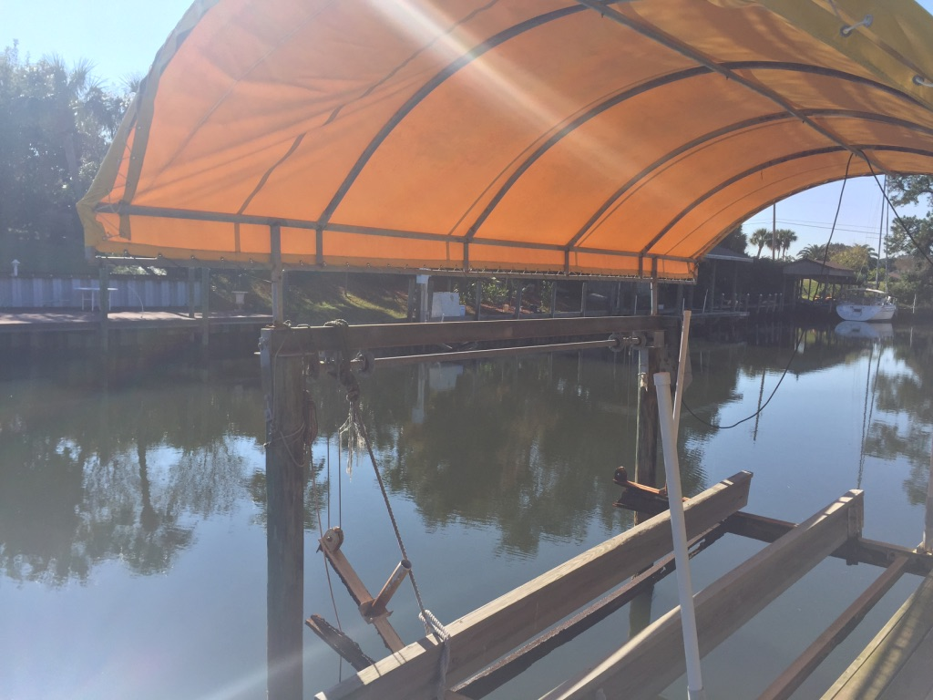 Boat Lift Canopy For Sale Used Pensacola Fishing Forum