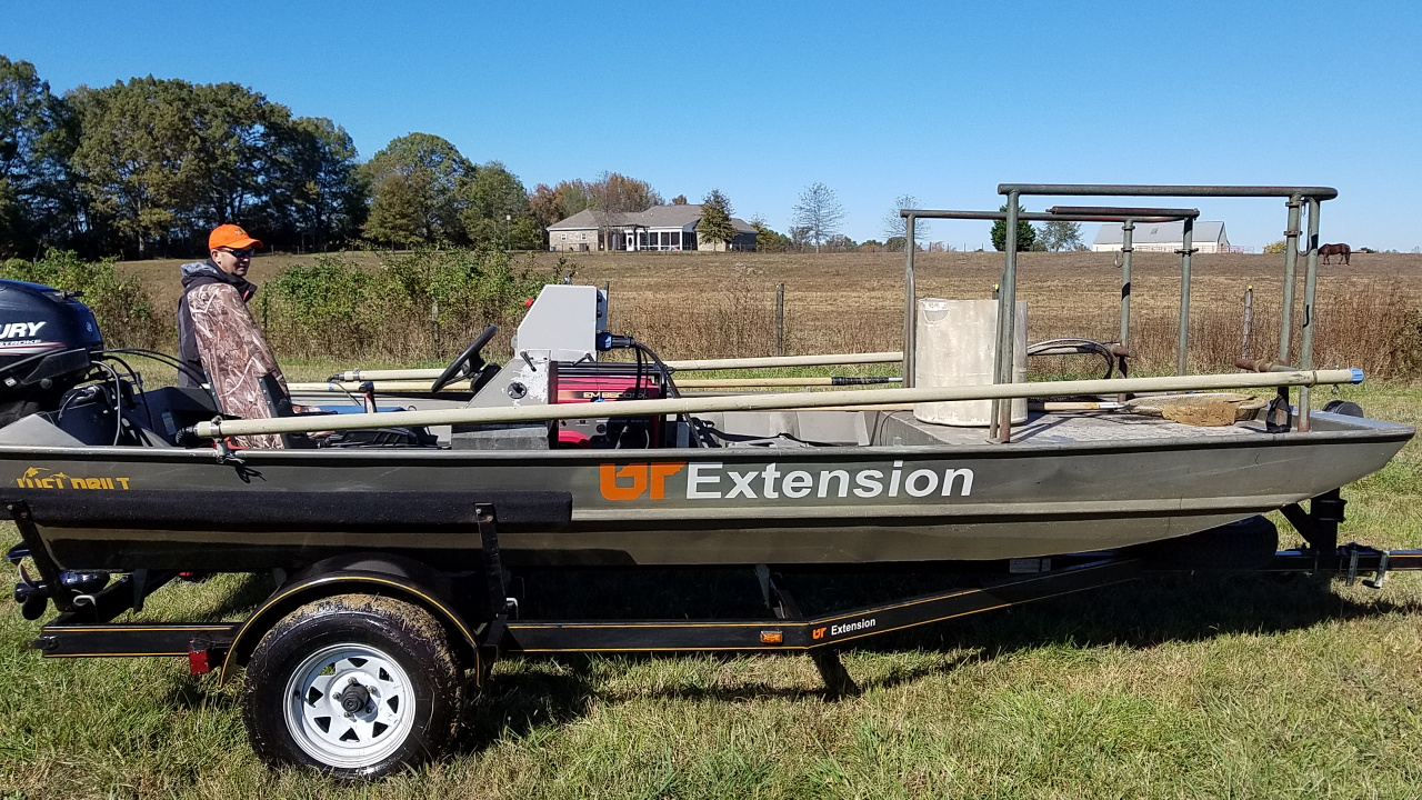Pond survey - with shock boat-ut-extension-boat-jpg