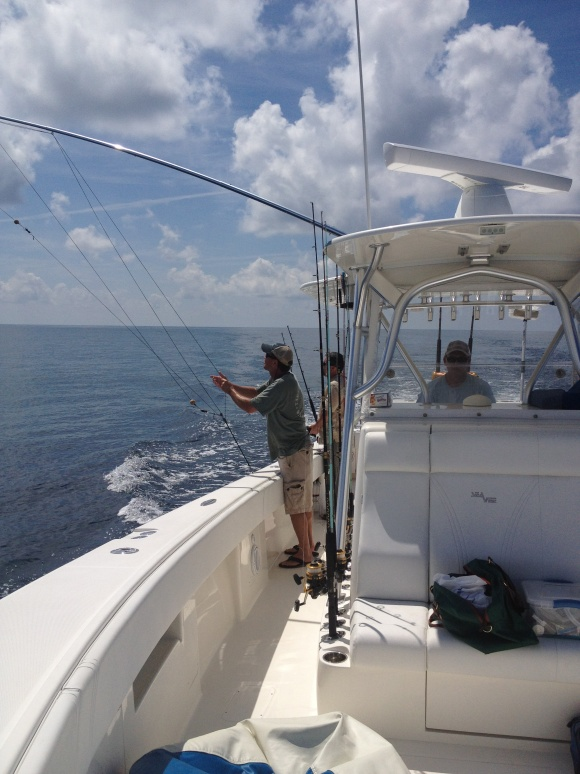 Maiden Offshore Trip for FN PAIR-A-DICE-wahoo-20120902-jpg