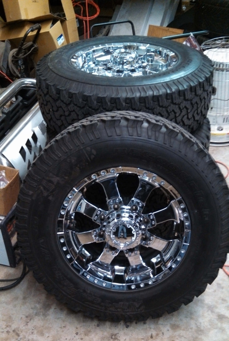 Wheels And Tires For Chevy Gmc 2500hd Pensacola Fishing