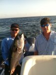 Will and Daniel with Big Blackfin.JPG