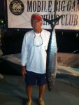 Mr Logan with Wahoo at weigh in.JPG